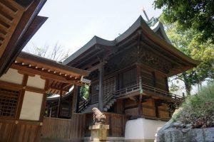 鶴崎神社 本殿