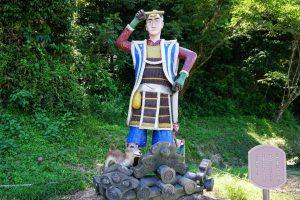 桃太郎像ー吉備津彦神社