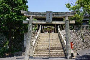 鶴崎神社 参道