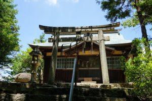 拝殿ー青陵神社ー