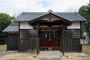 拝殿ー艮御崎神社ー