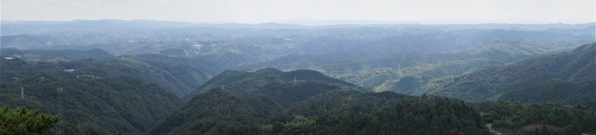 吉備高原ー弥高山よりー