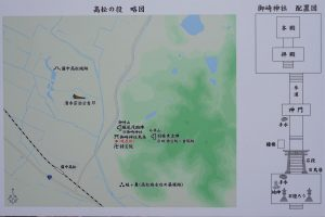 御崎神社 案内図