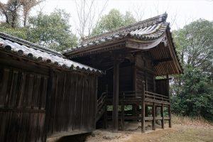 御崎神社 本殿