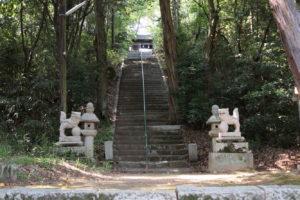 生石神社 参道