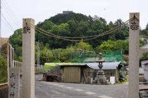 松島ー両児神社裏参道ー