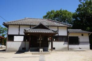 生石八幡宮拝殿