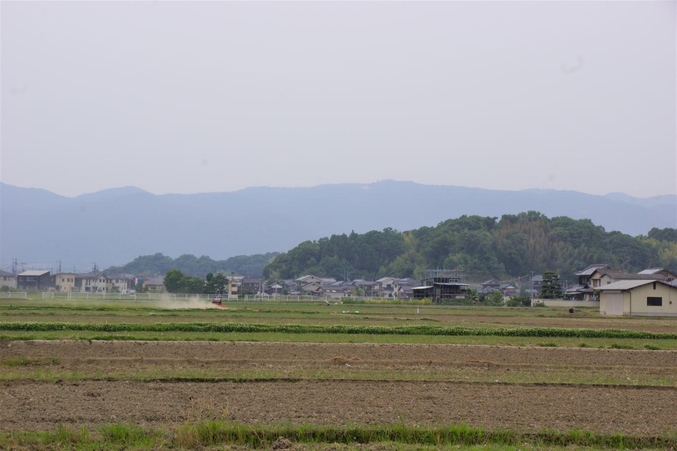 加藤清正陣跡(左)・津田与左衛門陣跡(右)