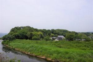 報恩寺山ー土合橋付近よりー