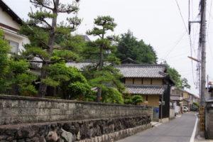 松島南麓の集落