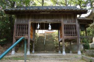 生石神社 随神門