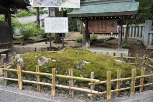矢置岩ー吉備津神社ー