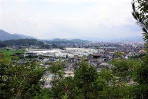 レンゴー岡山工場方面ー石鎚神社よりー