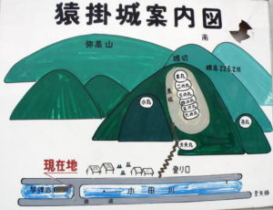 猿掛城跡案内図-2