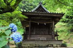 岩山宮ー吉備津神社ー