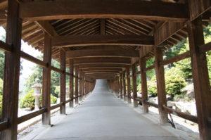 回廊-5ー吉備津神社ー