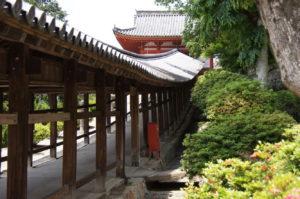 回廊-6ー吉備津神社ー