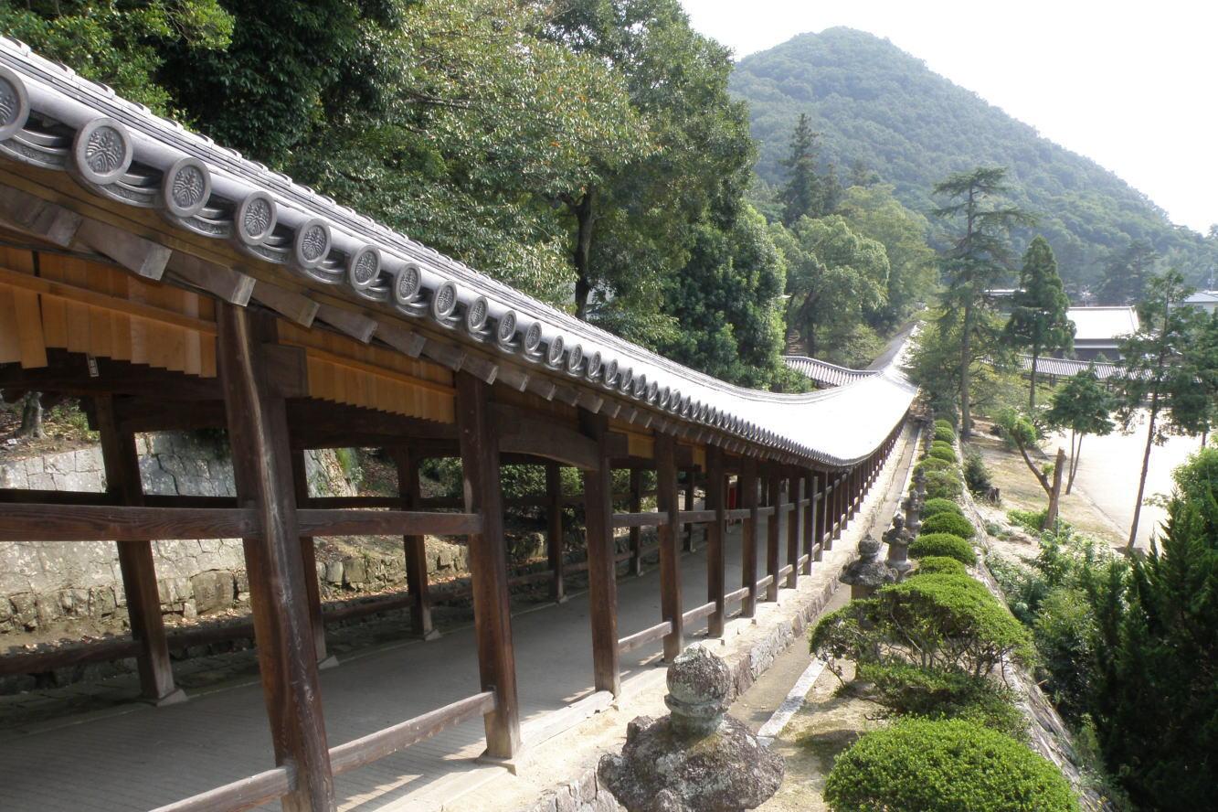 回廊ー吉備津神社ー
