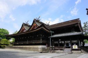 吉備津神社 本殿・拝殿