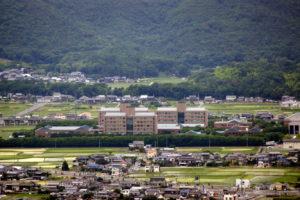 岡山県立大学ー鷹ノ巣城跡よりー