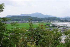 福山城跡方面ー石鎚神社よりー