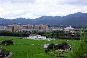 岡山県立大学ー長良山城跡よりー