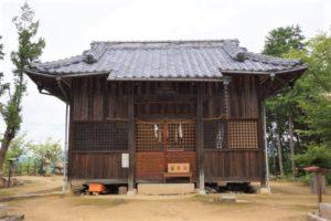 八幡宮ー長良山城跡ー