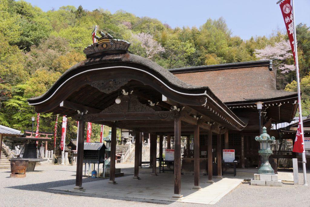 最上稲荷 霊応殿(旧最上稲荷本殿)