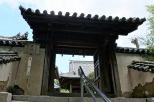 本蓮寺 中門