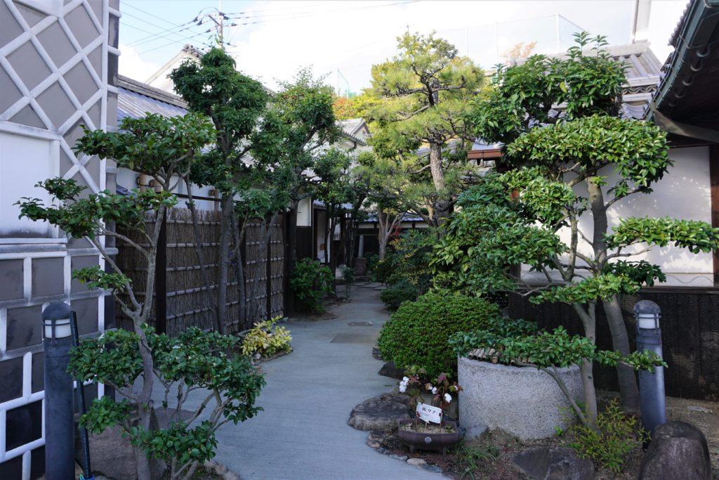 旧荻野家 中庭