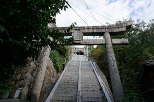 田土浦坐神社 参道