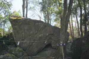 八畳岩側面