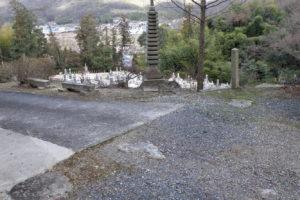 高麗寺仁王門跡