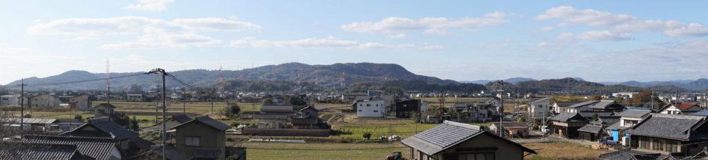 川入・納所・日畑方面ー真如院よりー