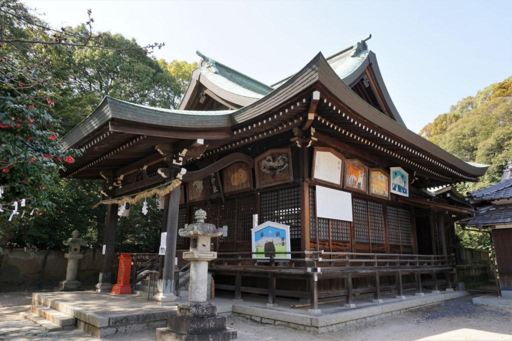 川入八幡神社