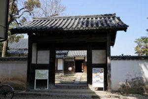 犬養木堂生家の表門