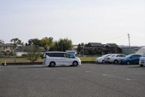 犬養木堂生家・駐車場