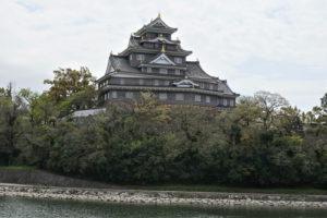 岡山城天守閣ー北側よりー