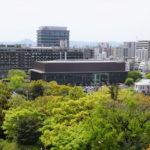 岡山県庁・県立図書館方面