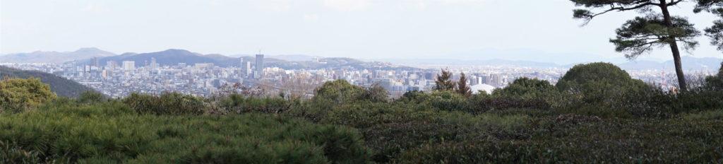岡山市街方面パノラマ(日拝所より)