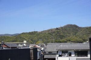テラスー亀島キャンプ場方面ー