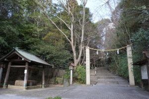 神道山参道