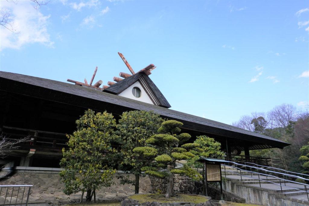 神道山 大教殿