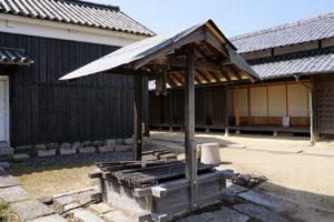 犬養木堂生家の井戸