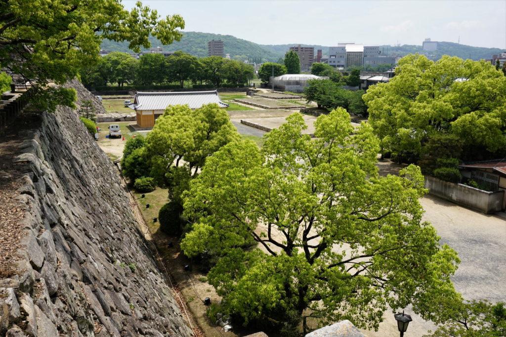 岡山城 本丸 下の段