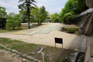 岡山城 表書院(中の段)ー不明門前よりー