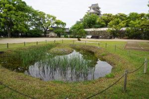 岡山城 表書院 泉水