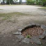 岡山城 中の段 井戸跡