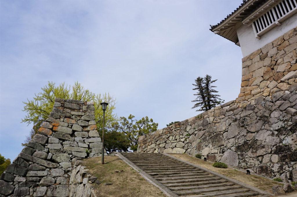 岡山城 鉄門跡