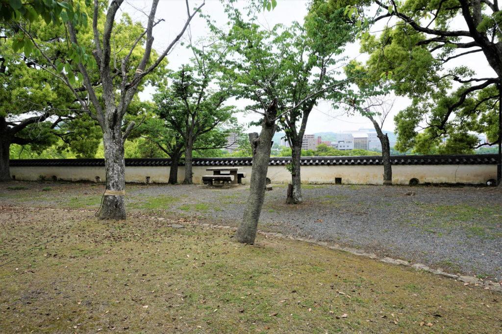 岡山城 干飯櫓跡
